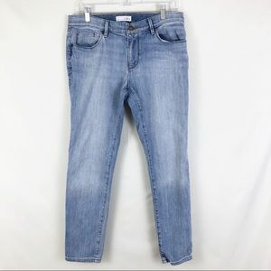 LOFT Relaxed Skinny Jeans Size 28 Petite